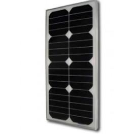 Panel Solar monocristalino rígido 25W de alto rendimiento