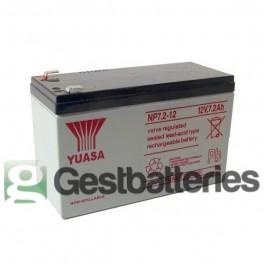 Batería Yuasa NP7.2-12(L)