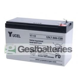 Bateria Yucel Y7-12