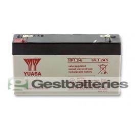 Bateria Yuasa NP1.2-6