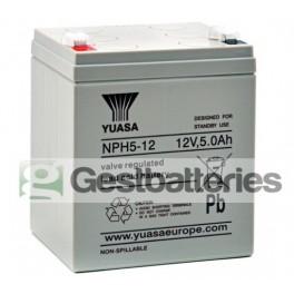 Batería NP10-12 de 10Ah 12V