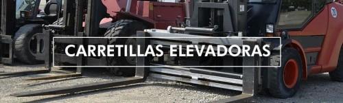 Carretillas elevadoras y barredoras