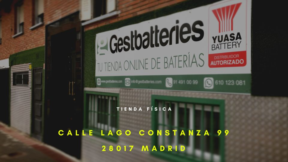 Tienda de Baterías en Madrid. Tienda de Baterías en Almería